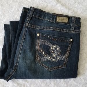 Earl Embellished straight leg jeans